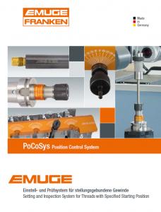 EMUGE PoCoSys Position Control System PDF